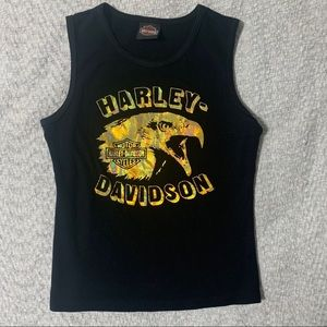 Harley Davidson chromatic Eagle tank